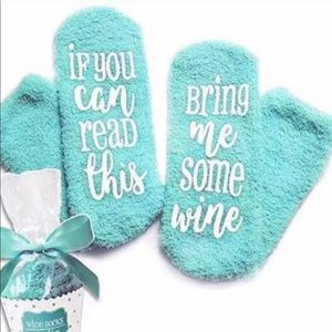 Bring Me Some Wine Cupcake Socks Asst. Colors